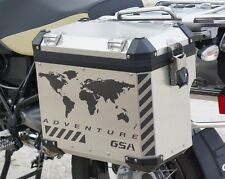 Motorcycle Reflective Decal Kit World Adventure for BMW GS Touratech Panniers