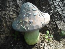 """Latex only mushroom mold plaster concrete casting mould 9""""H x 7""""W at cap"""