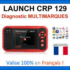 Launch CRP 129 - Valise Diagnostic MULTIMARQUES - Autocom Delphi ELM VAG COM