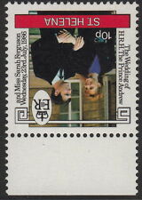ST HELENA:1986 Royal Wedding 10p wmk INVERTED  SG486w unmounted mint