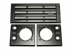 Land Rover Defender - KBX Upgrade Grille & Lamp Surround Kit (Satin Black)