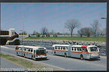 Road Transport Postcard - OC Transpo Bus 8205 Near Queensway Station   BH2660