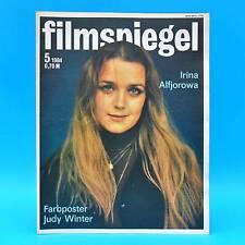 DDR Filmspiegel 5/1984 Judy Winter Gojko Mitic Franco Nero Fame von Trotta L