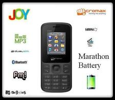 New Micromax Joy - X1850 Dual Sim Mobile Phone With Camera + MP3 - MRP -  875 Rs
