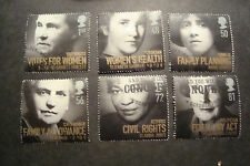 GB 2008 Commemorative Stamps~Women Of Distinction~Very Fine Used Set~UK Seller
