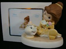 c Precious Moments-Beauty And The Beast-Belle/Chip And Mrs. Potts-Tea-Light