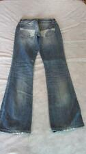 """Joe's Woman Jeans Distressed  29x36"""" - Low Rise Bootcut  Light/Med Stone Washed"""