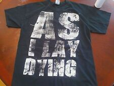 As I Lay Dying Concert Shirt !!