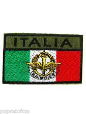 Patch Bandiera Italia Alpini Ranger Militare Toppa per Mimetica Vegetata Esercit