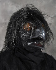 Dark Raven Demon Monster Crow Bird Adult Halloween Mask Moves with Your Jaw