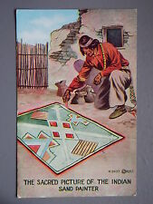 R&L Postcard: The Sacred Picture of the Indian Sand Painter, HHT