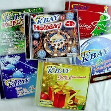 KBAY SF Radio 8 Christmas Cd Lot Vols 1-7+9 Holiday Pop Rock Contemporary Faves