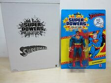 "DC UNIVERSE CLASSICS SUPER POWERS 6"" SUPERMAN 30TH ANNIVERSARY EDITION NEW MATTY"