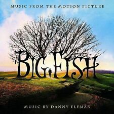 1 CENT CD Big Fish OST danny elfman/buddy holly/pearl jam