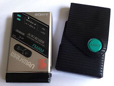 Sony WM-F100 AM/FM Stereo Cassette Player Walkman DOLBY NR Vintage Japan