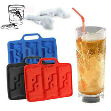 Silicone Ice Drink Tray Cool Ice Cube Gun Pistol Shape Ice Mold Ice Maker Mould