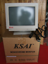 KSAI M0935 10 Inch  VGA Monochrome  Monitor new and boxed