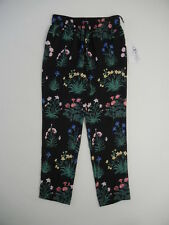 Valentino (Sz. XS) $1690 NWT F'2015 Floral Garden Party Silk PJ-Chic Loose Pants