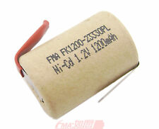 2Pcs Ni-Cd 4/5Sub C SC 1.2V 1200mAh Rechargeable Battery for Power tools toys US