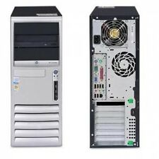 COMPUTER Usato DESKTOP Tower PC FISSO HP DC7100 P4HT 3.00 GHz!!! 2 Gb Di RAM!!