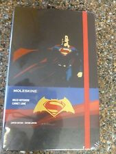 "Superman Moleskin Limited Edition Ruled Notebook 5 X 8.25"" Hardcover Sealed"
