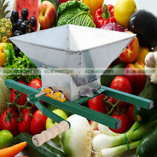 7L Fruit Crusher Portable Breaking Pulper Apple Cider Wine Juice Press Grinder