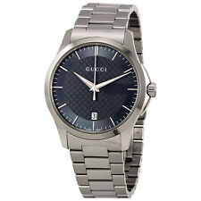 Gucci G-Timeless Grey Dial Stainless Steel Unisex Watch YA126441
