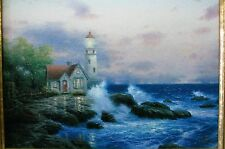 "THOMAS KINKADE CLASSICS COLLECTION ""BEACON OF HOPE"" SIGNED W/COA"
