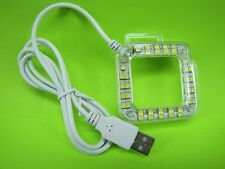 External USB Lens Ring LED Light for GoPro 3 3+ 4 Camera / BuyNOW~GetFAST