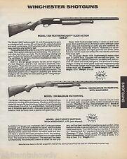 1986 Winchester Model 1300 Featherweight, Waterfowl & Turkey Shotgun Ad