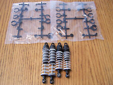 Traxxas 4x4 VXL Stampede Front & Rear Shocks w/ Springs /Fits Slash 4wd & Rally