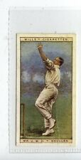 (JD1361-100)  WILLS,CRICKETERS 1928,MR.J.W.H.T.DOUGLAS,ESSEX,1928,#8