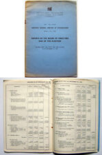 Fiat Annual Report for 1951 from the Directors & Auditors for the AGM 1952