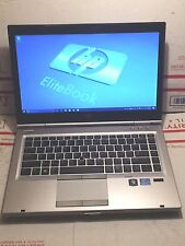 HP ELITEBOOK 8470P i5 LAPTOP WEBCAM 8GB RAM 128GB SSD WIN10 OFFICE13 +EXTRAS!!!