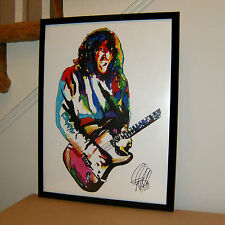 John Frusciante, Red Hot Chili Peppers, Guitar Player, Rock 18x24 POSTER w/COA 2