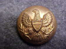 RARE OLD EAGLE US ARMY ENLISTED BRASS 5/8 UNIFORM BUTTON MARKED H V ALLIEN