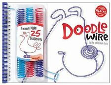 Klutz Doodlewire Craft Book includes Doodle wire