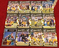 """Packers 2016 Donruss """"Then and Now"""" Team Lot: Brett Favre + Rodgers ����"""