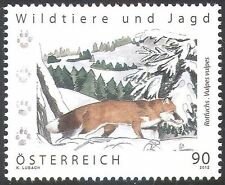 Austria 2012 Red Fox/Animals/Nature/Hunting/Wildlife/Conservation 1v (n42214a)