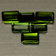 4.34 CT NATURAL! 12PCS GREEN NIGERIA TOURMALINE OCTAGON