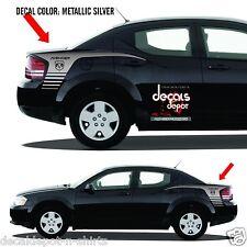 DODGE AVENGER Vinyl Decal Graphics Quarter Panel Stripes SXT 2008 to 2017
