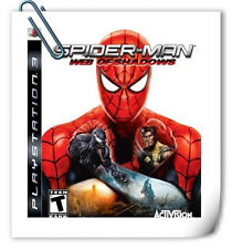 PS3 Spider-Man Web of Shadows SONY PLAYSTATION Games Activision Action