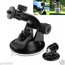 New Suction Cup Mount Tripod Adapter Camera Accessories For Gopro Hero 4/3/2/HD
