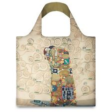 LOQI Artist Museum Collection Tote Bag 'The Fulfilment' Gustav Klimt.