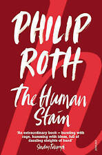 The Human Stain, By Philip Roth,in Used but Acceptable condition