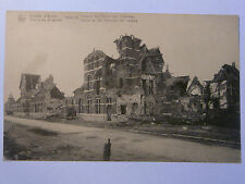 CPA - POSTCARD RUINES RUINS BOMBARDMENT YPRES WWI - ASILE DES ALIENEES - 14/18