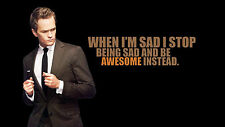 Poster 42x24 cm Barney Stinson Como conoci How I met your mother