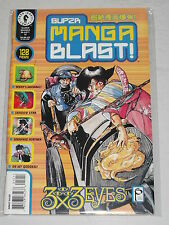 SUPER MANGA BLAST #12 DARK HORSE COMICS MAGAZINE MAY 2001