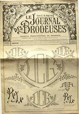 Le Journal des Brodeuses n°835 - 1964 - Ecussons pour bavoir - Nappes -
