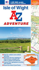 Isle of Wight Adventure Atlas by A-Z Maps, (Paperback, OS 25000 Mapping)